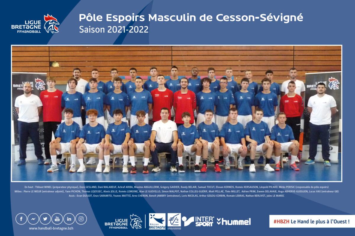 2021 2022 Poster Cesson Version avec staff