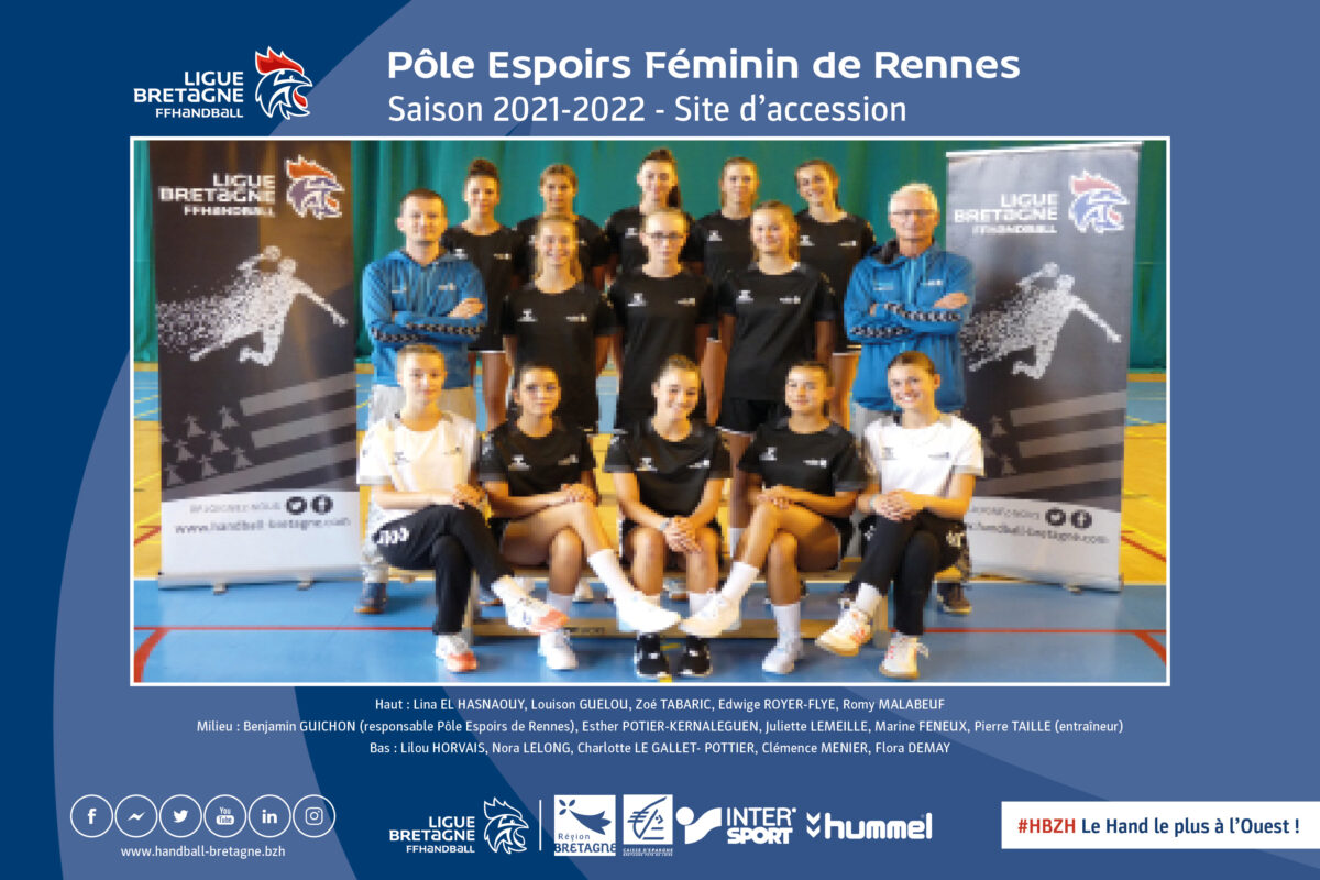 2021 2022 Poster Rennes Accession